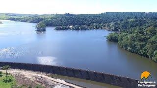 Barragem do Salto - São Francisco de Paula/RS - Visto de Cima