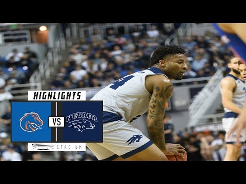 Boise State vs. No. 8 Nevada Basketball Highlights (2018-19) | Stadium