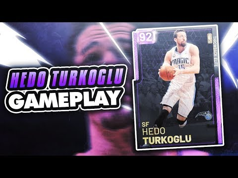 AMETHYST HEDO TURKOGLU GAMEPLAY! HE SCORES OVER EVERYONE! SUPER CHEESY JUMPSHOT IN 2K19 MYTEAM