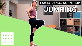Family Dance Workshop for kids aged 2 – 6: Jumping