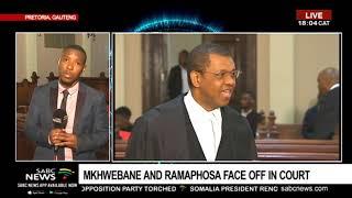 UPDATE: Ramaphosa, Mkhwebane face off in court