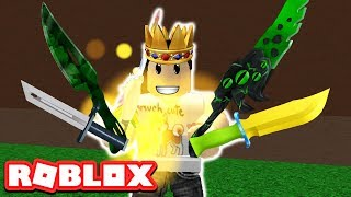 KING OF THE KNIFE SIMULATOR IN ROBLOX (Episode #1)