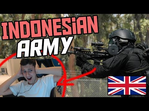 *REACTION* INDONESIAN ARMY 2018 (English Reaction Indonesian Special Forces/Army 2018)
