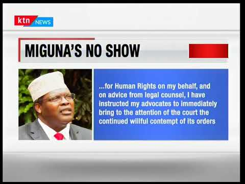 Miguna Miguna Retreat:Combative lawyers fails to jet in