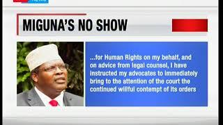 Miguna Miguna Retreat:Combative lawyers fails to jet in