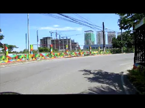 Motorcycle view in Lapu Lapu ~ Mactan Island Historical Shrine District ~ Philippines Tourism
