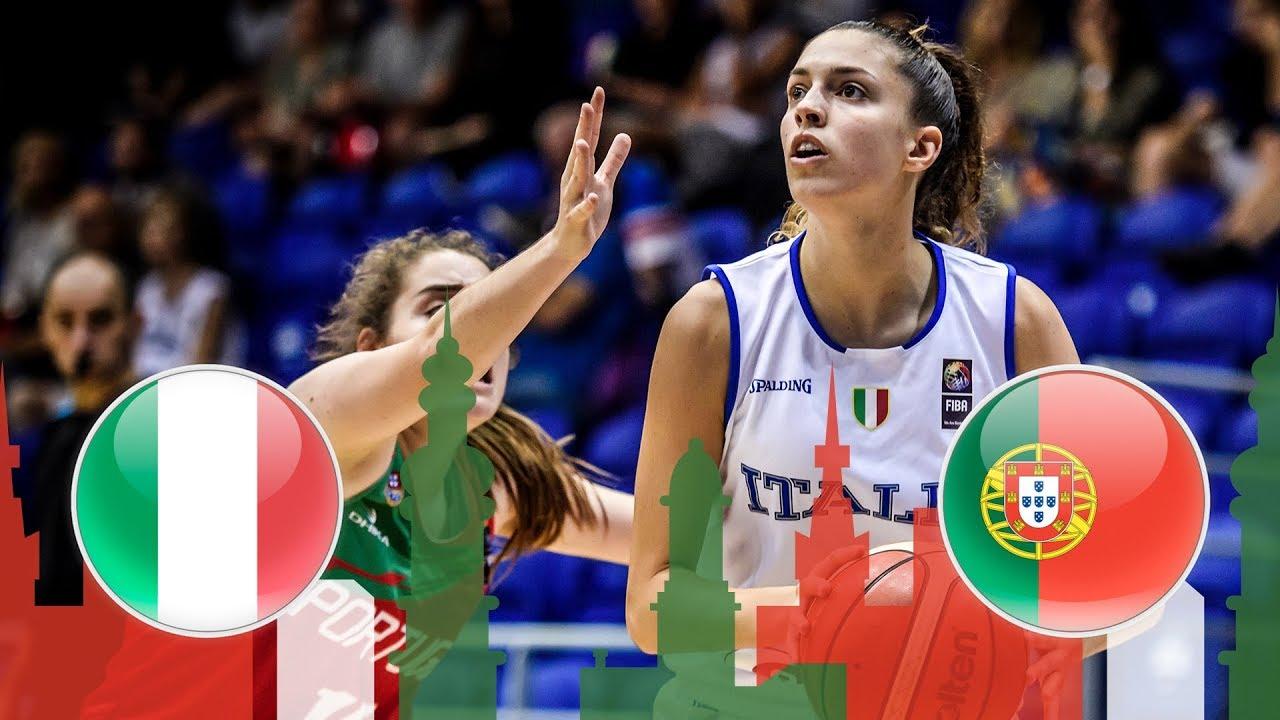 Re-watch: Italy v Portugal - Quarter-Finals