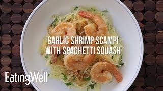 Garlic Shrimp Scampi with Spaghetti Squash
