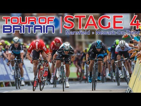 Tour of Britain 2017 - STAGE 4 [ Mansfield » Newark-On-Trent ] // PRO CYCLING MANAGER 2017