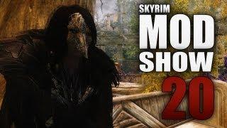 skyrim mod show 20 fr raven witch armor silverfish grotto lilium follower wanderer cuirass