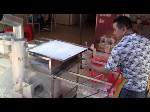 Chinese Street Food In Kaiping, China  (Hoiping Near Toisan)