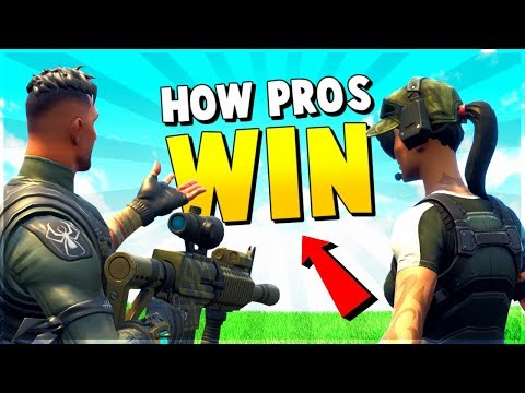 PRO shows us HOW TO WIN in FORTNITE | Fortnite Tips and Tricks