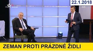 DUEL SPECIÁL - prezidentská debata u Jaromíra Soukupa / volby 2018