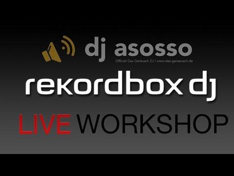 Rekordbox Workshop   Bibliothek Synchronisieren