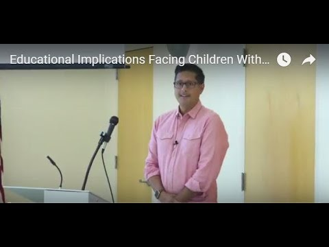 Educational Implications Facing Children With Bipolar - Dr. Haytasingh