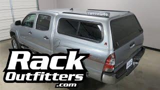 Toyota Tacoma Leer Camper Rhino Rack Rt14 Tracks