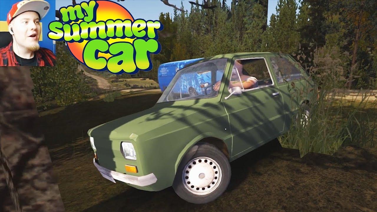 PIJANY KIEROWCA MALUCHA ROBI DRIFTY! My Summer Car #02