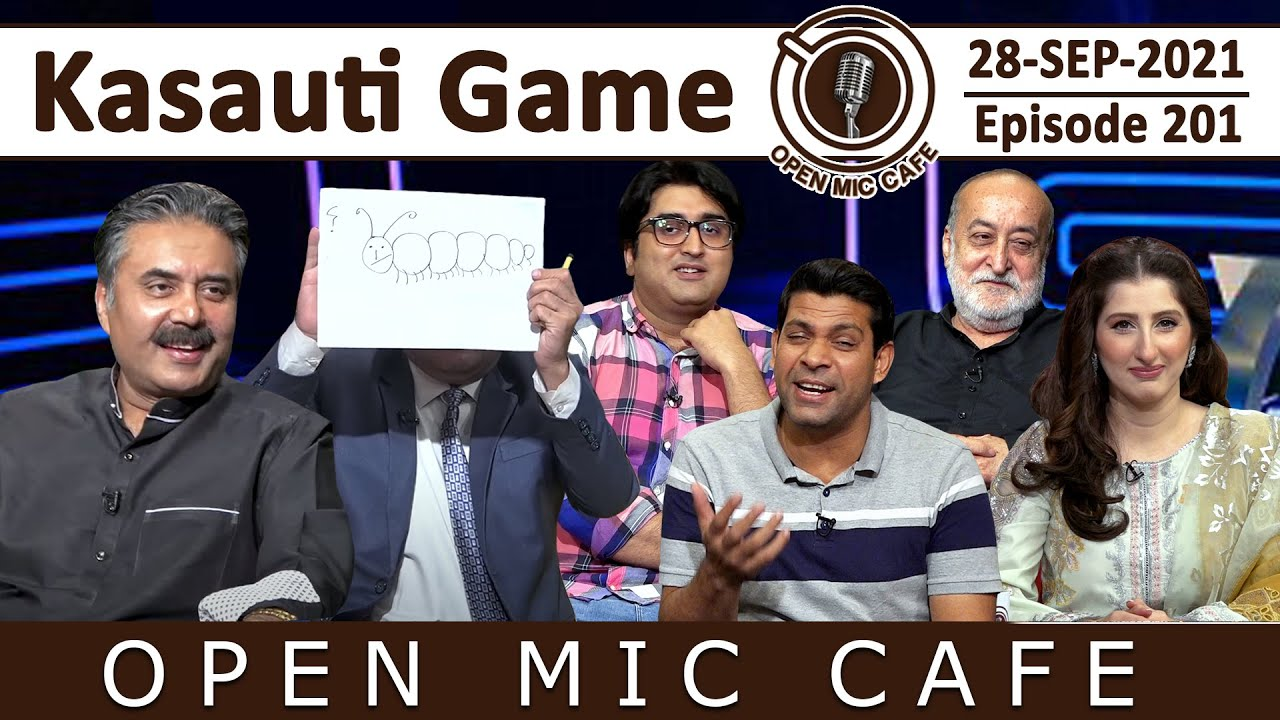 Download Open Mic Cafe with Aftab Iqbal | 28 September 2021 | Kasauti Game | Episode 201 | GWAI