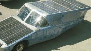 Электро Автомобиль на солнечных батареях СВОИМИ РУКАМИ 19.04.2014