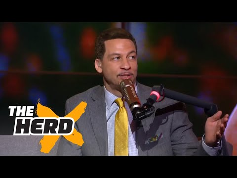 LeBron James already the GOAT? Chris Broussard answers that and talks 2017 Playoffs   THE HERD