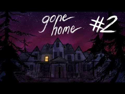 Gone Home - Part 2 | GETTING TO KNOW DADDY | Interactive Exploration Game | Gameplay/Commentary