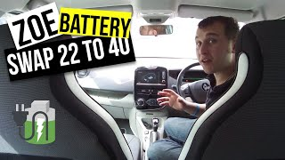 HOW its DONE Renault Zoe Battery upgrade 22kw to 40kw Part 2/2 🔋🔌🚗