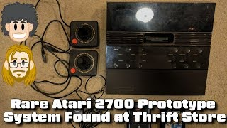 Rare Atari 2700 Prototype System Found at Thrift Store - #CUPodcast