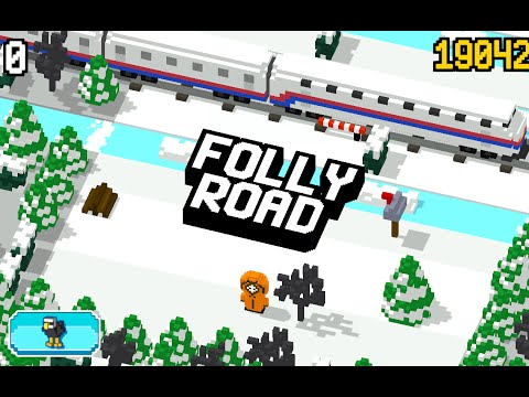 folly-road---crossy-(by-gavvagames)-ios-/-android-gameplay-video