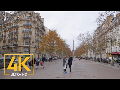 Late Autumn in Paris, France 4K - Urban Documentary Film - Best of Europe
