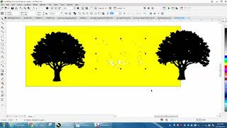 Corel Draw Tips & Tricks Tree Clipart to Vector
