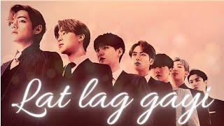   BTS Lat Lag Gayi Hindi Song mix  