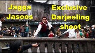 Exclusive Ranbir Kapoor Jagga Jasoos Shoot Darjeeling