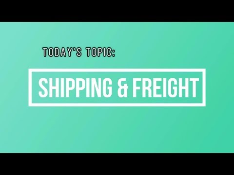 Trade Show Freight & Shipping 101