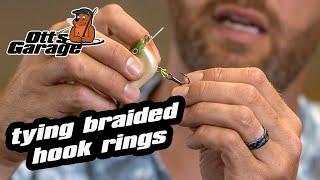 Ott's Garage | How To Tie A Braided Line Split Ring