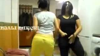 Repeat youtube video Indian College Desi Girls Dancing at Home Fully Drunk