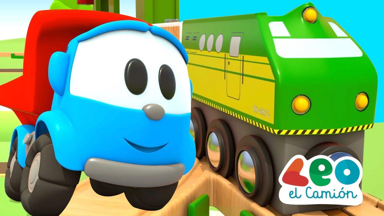 Pequeño Infantiles En El Leo Trenes Español Camión E2IYWDH9