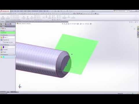 ISO metric threads made easy on Solidworks