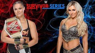 Download WWE Survivor Series Promo 2018 - Ronda Rousey vs Charlotte Mp3 and Videos