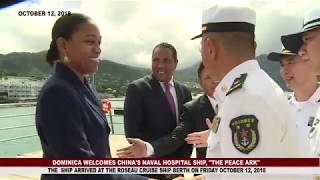 DOMINICA WELCOMES CHINA'S NAVY MEDICAL HOSPITAL
