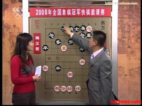 xiangqi(chinese chess) 2008 champion fast game-xutianhong vs zhaoguorong