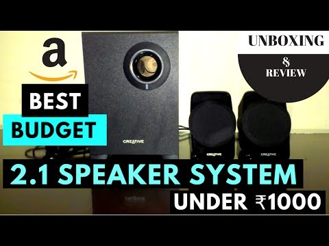 AMAZON BEST!! LAPTOP/PCs GAMING 2.1 Speaker System Under � Price [Unboxing & Review]