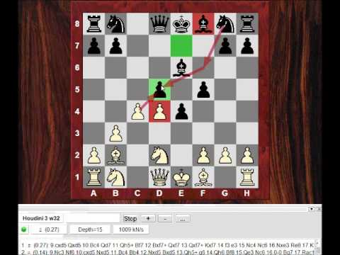 Chess World.net: Instructive Game: A surprise opening inspired by Kramnik - Nf3 followed by b3