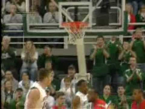 Michigan State Basketball 2008-09 Highlight