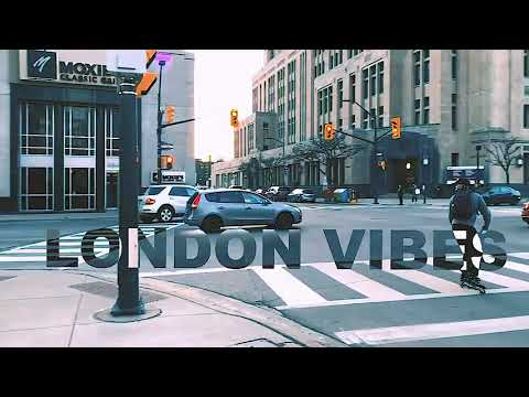DOWNTOWN-LONDON, ONTARIO, CANADA...