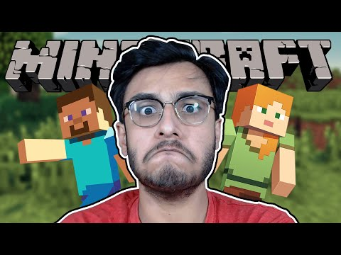 playing-minecraft-for-the-very-first-time-ever---part-1- -rawknee