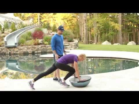 Dara Torres demonstrates a workout from her new Health & Fitness App!