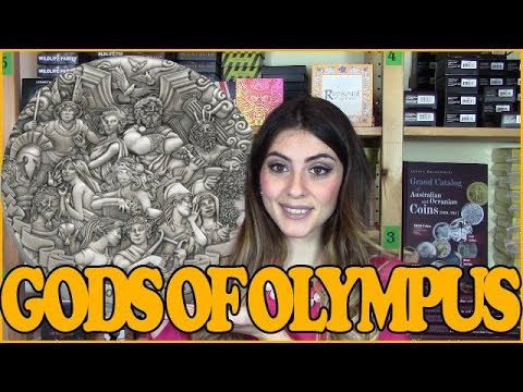 ⚡ GODS OF OLYMPUS ⚡ REVIEW - 5 Oz Silver Coin - Cook Islands 2017