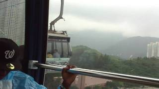 Shaq is scared of cable cars