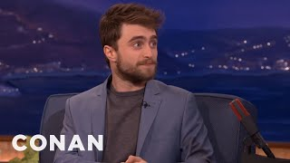 "Daniel Radcliffe Crashed ""Star Wars: The Force Awakens""  - CONAN on TBS"