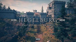 Hegelburg | 1 hour of Village & Town Fantasy Music | Medieval RPG City Ambience | D&D Audio | ASKII
